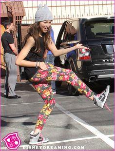 I love what she wears!!! I dress just like her too!