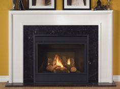 Fireplace mantel on Pinterest