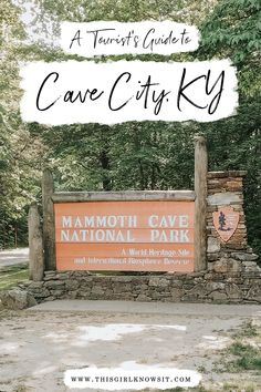A Tourist's Guide to Cave City, KY | Wanting to learn about some awesome things to do during your visit to Cave City, KY? Then check out this post! | #mammothcave #cave #explore #kentucky #cavecity #travel #travelusa | This Girl Knows It | www.thisgirlknowsit.com