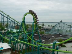 Raptor, Cedar Point. Sandusky, OH. I am not wowed anymore by the inverted coasters...Raptor was not an exception.