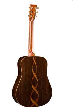 Custom Martin D-41 Acoustic Guitar Back