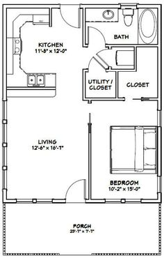 Small House Floor Plans, Cabin House Plans, Bedroom House Plans, The Doors, Garage Plans, Shed Plans, Brick Paneling, Apartment Floor Plans, A Frame House