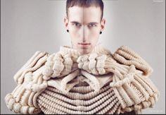 Slave Magazine Knitwear Carlo Volpi Sylist Kat Rembielak Make Up Fiorenza Ferrara Model Mario @D1 models
