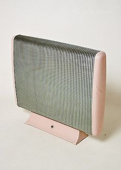 Vintage Pink 1950s 60s Creda Electric Heater - Working and PAT tested!