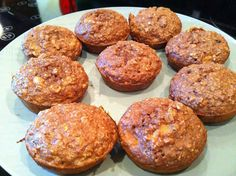 High-Protein Bodybuilding Choco-Banana Muffins