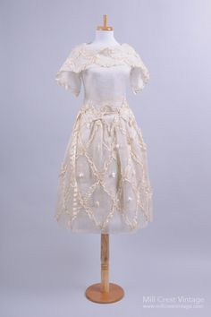 EDWARDIAN VINTAGE WEDDING DRESS
