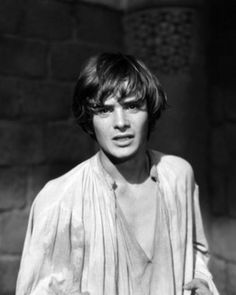 Leonard Whiting in Romeo & Juliet 1968. I saw this movie at least three times with my friend Wendy. We couldn't get enough Shakespeare after that.