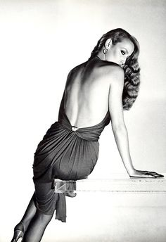 1979. Vogue Italia. Model Jerry Hall. Photo by Gian Paolo Barbieri (B1938)