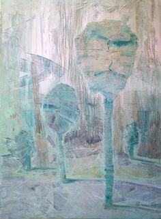 drzewa paczkowe / akryl
