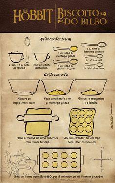 hobbit biscoitos do bilbo