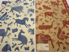 Lee Jofa Fabric Birds Animal Print Floral Toile Striped Damask Luxury !!! by KAMILA'S FABRIC on Etsy