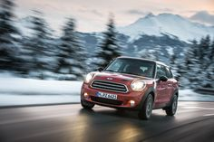 Lean in. #MINI #Paceman #CooperD #ALL4