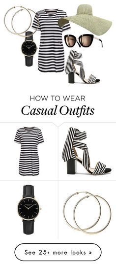 """On The Boardwalk"" by cindiawb on Polyvore featuring Raye and ROSEFIELD Casual Wear, Casual Outfits, Cute Outfits, Weekend Dresses, Pamela, Skirt Outfits, Fashion Ideas, Runway, Makeup"