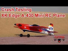 Crash testing the XK Mini Edge A-430 RC Airplane