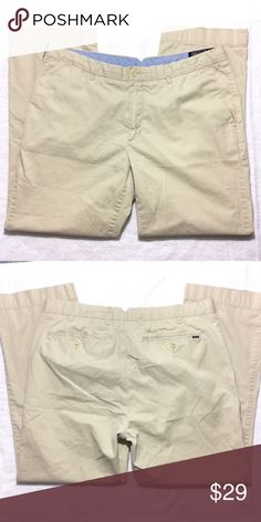 """POLO by Ralph Lauren classic fit pants Good condition. Light material. Inseam 26"""". Like multiple items I have available? When you bundle 3 items from my closet in the same transaction, you get a discount and only pay shipping ONCE!! When you bundle 4+, you get that PLUS a FREE GIFT! *Free gift increases in value with each additional item bundled* Polo by Ralph Lauren Pants"""