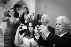 The Unplugged Wedding: couples tell guests to put down their devices - I love this! So many times you get pics of others taking pics. Ask them what the venue was like and the have no clue. They were watching their phones/cameras etc. instead of the reason they were there. I think this will be a must at my wedding.