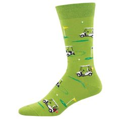 golf carts putting around decorative men's socks . . . great gift for your favorite golfers! Cool Socks For Men, Golf Carts, Men's Socks, Golfers, Love To Shop, Great Gifts, Outlets, Museum, Outlet Store