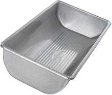 USA Pan 12 x 5 1/2 x 2 1/4 Inch Hearth Bread Pan, Aluminized Steel with Americoat. Available at OurPamperedHome.com