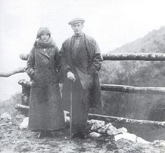 Irina and Felix in Exile