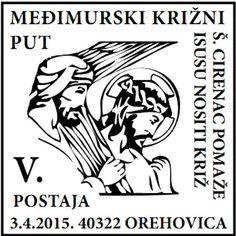 Sonderstempel von Kroatien Ostern