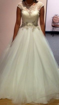 Final allure 9022 dress with added medium petticoat for extra volume. :)