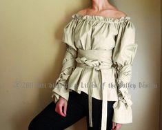 Renaissance Clothing. Renaissance Blouse. Peasant Blouse. Plus Size. S. M. L. XL. Gothic Blouse. Renaissance Festival. Shirt.. $95.00, via Etsy.