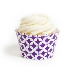 Royal Purple Diamonds Cupcake Wrappers- Cupcakewrappers.ca