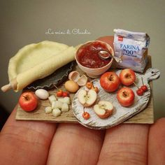 Tasty polymer clay miniature by Le Mini Di Claudia