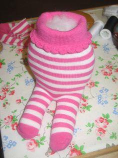 Sewing Gifts For Men Zebra toy - Sewing Stuffed Animals, Stuffed Animal Patterns, Felt Doll Patterns, Bear Patterns, Sock Monster, Sock Toys, Sock Crafts, Sock Animals, Sewing Toys