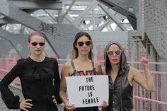 Katherine Brooks Five Women Artists Are Setting The Stage For A Future Feminism Posted: 09/05/2014