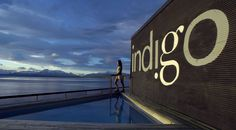 Hot tub with a view, Hotel Indigo Puerto Natales, Chile