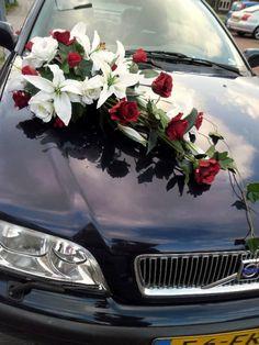 Bride's Cars : Bride's Cars : Picture Description wedding car decoration photos – . Wedding Stage, Rose Wedding, Wedding Events, Silk Floral Arrangements, Cascading Flowers, Bridal Flowers, Wedding Car Decorations, Flower Decorations, Asian Lilies