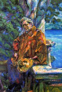 Boccioni, Umberto (1882-1916) - 1916 Ferruccio Busoni (Galleria Nazionale d'Arte Moderna di Roma, Italy)