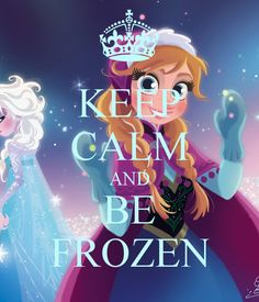 be frozen