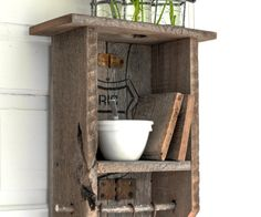 Route 66 rustic cabinet-9506