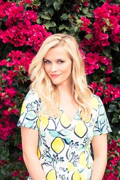 At home with Reese Witherspoon.