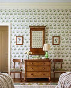 Home Renovation, Granny Chic, Interior Decorating, Interior Design, Dresser As Nightstand, Dressers, Home Bedroom, Home Decor Inspiration, Decoration