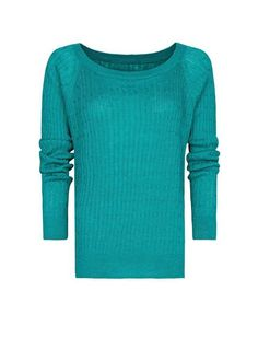 Cable Knit Sweater - Lyst
