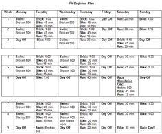 9 week sprint TRIATHLON!