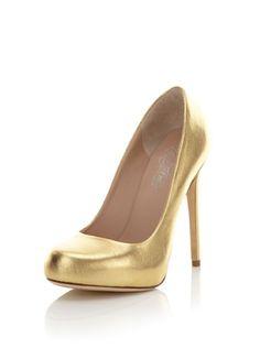 91% OFF Alejandro Ingelmo Women's Grace Classic Pump (Gold)