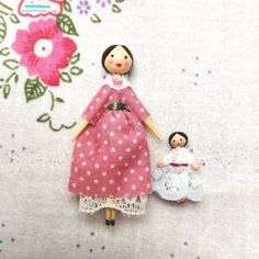 Wooden Dolls, Cute Dolls, Attic, Vintage Inspired, Textiles, Christmas Ornaments, My Love, Holiday Decor, Sweet