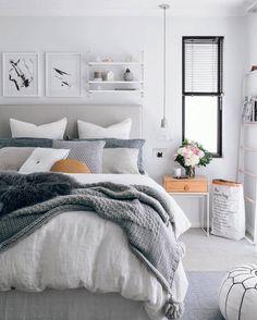Comfy Scandinavian Bedroom Decor Ideas