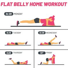 Get your summer body in one month! Summer Body Workouts, Body Workout At Home, At Home Workout Plan, At Home Workouts, Summer Body Goals, Gym Workout Videos, Gym Workout For Beginners, Lower Belly Workout, Tummy Workout
