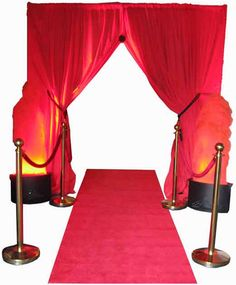 Red Draped Entrance Kit