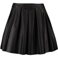 Morgan JOXA Pleated skirt noir (€37) ❤ liked on Polyvore featuring skirts, bottoms, saias, faldas, black, short skirts, short pleated skirt, patterned skirts, pleated skirt and pattern pleated skirt