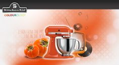I just took the KitchenAid Colourology quiz and discovered that I'm Persimmon, because I'll find ways to decorate with a splash of retro. What's your colour?