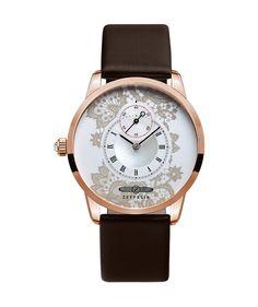 ZEPPELIN Viktoria Luise watch Ladies Swiss quartz R/Gold case Silver dial 7331-5