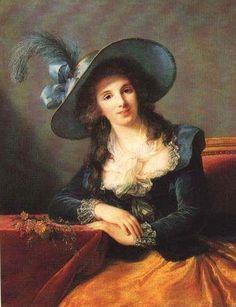 Portrait of Antoinette Elisabeth Marie d'Aguesseau, countess of Ségur  - Louise Elisabeth Vigee Le Brun