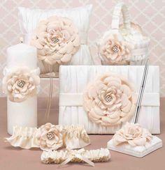 Flower Girl Basket And Ring Bearer Pillow Set