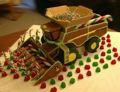 Ho ho ho gingerbread dump truck